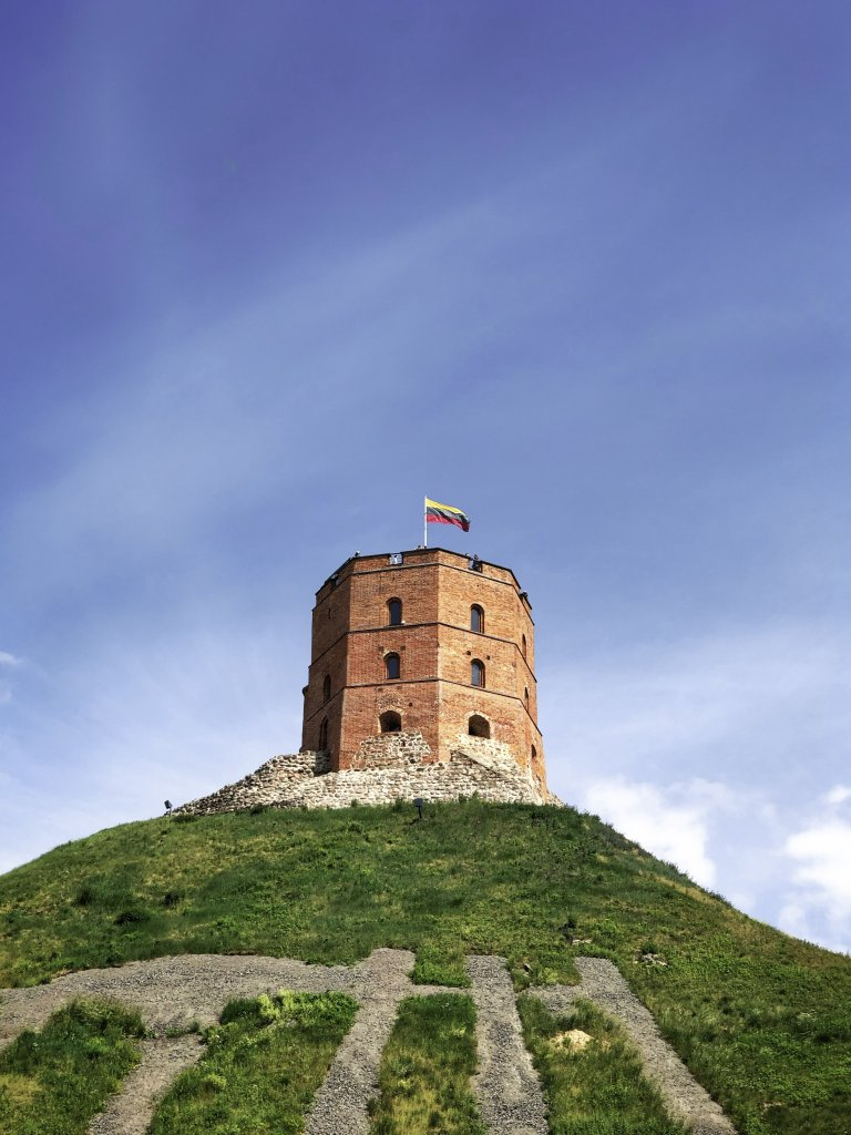 Vilnius attractions #6 - Gediminas Tower.