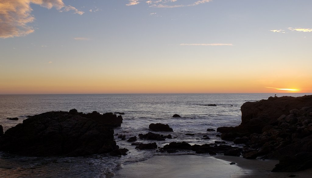 A stunning sunset over the ocean in Malibu - #5 of The Top 10 Road Trips From Las Vegas