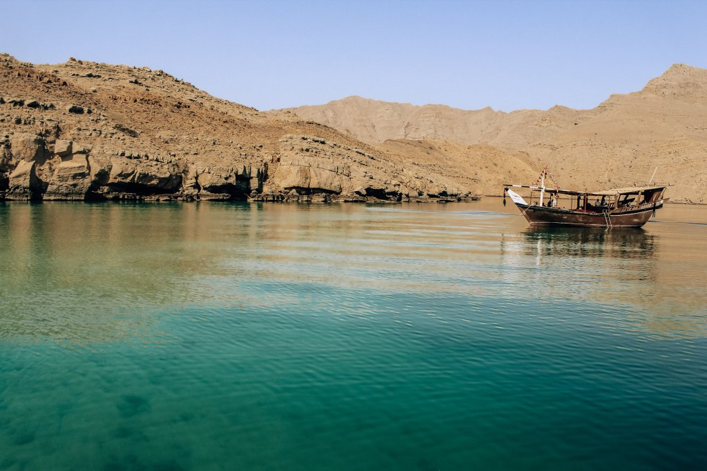 Where to go after Liwa? Musandam Oman, blue waters.