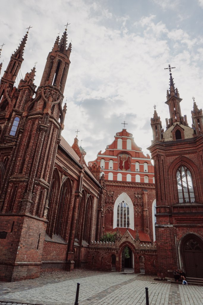 Vilnius attractions #1 - St. Anne's church complex.