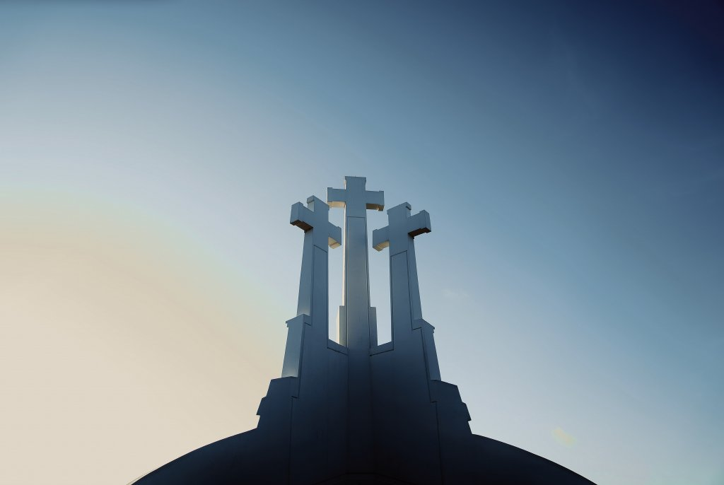 Three Crosses in Vilnius.