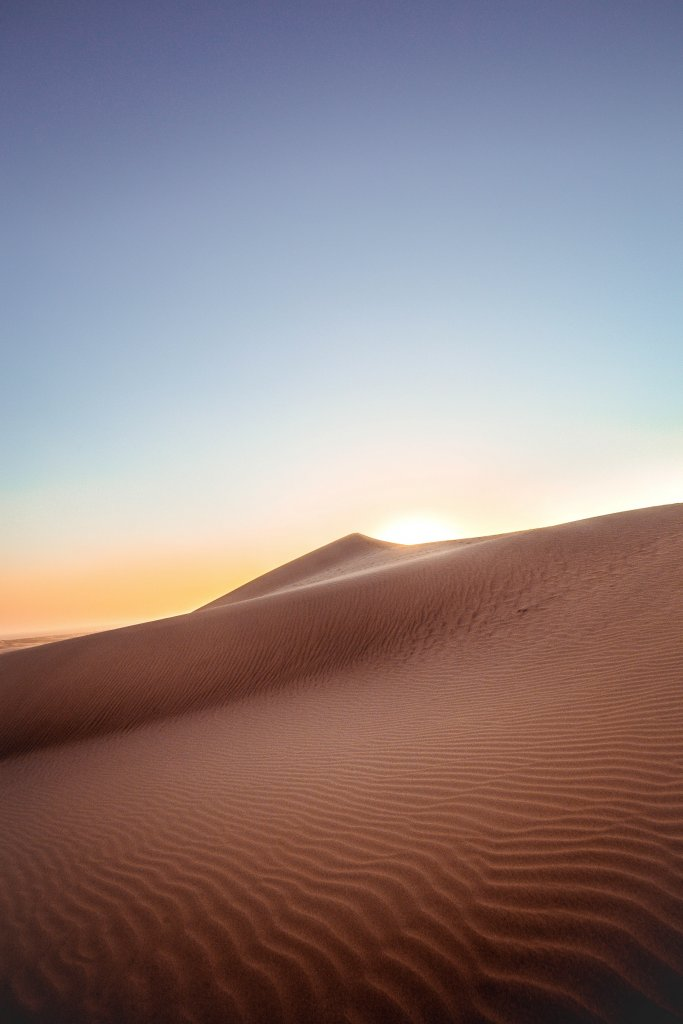 Watching the sunrise over the sand dunes; Simple Bucket List Ideas.
