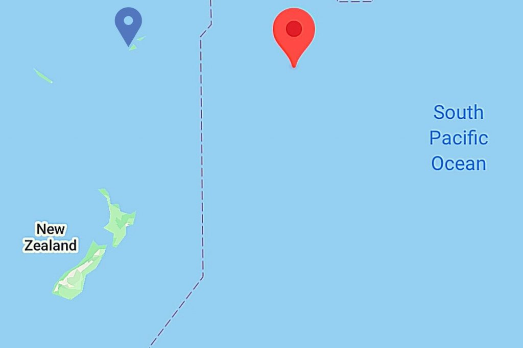 Map of the Cook Islands.