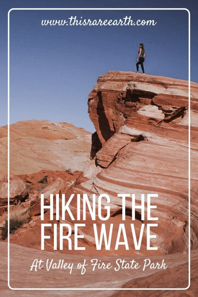 Hiking the Fire Wave at Valley of Fire State Park Pin.