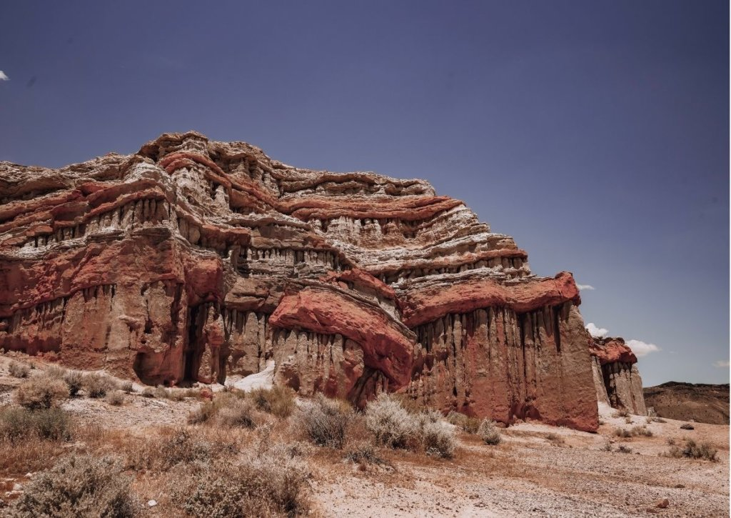 Red Rock Canyon State Park in California - a great place for hiking and camping in the desert.