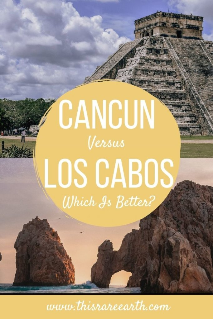 Los Cabor or Cancun? Which is better? Deciding between Cancun vs Cabo for vacation? Here is everything you need to choose the best destination for YOU - Cancun or Los Cabos.