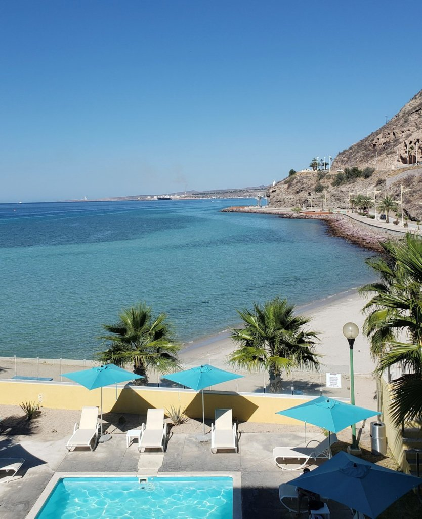 La Paz, Mexico's beaches and mountains, a great place to relax on your Baja road trip.