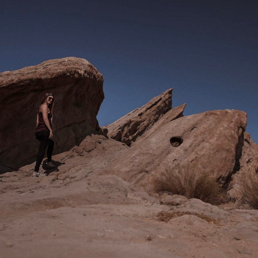 One of the best hiking trails in southern California - Vasquez Rocks!