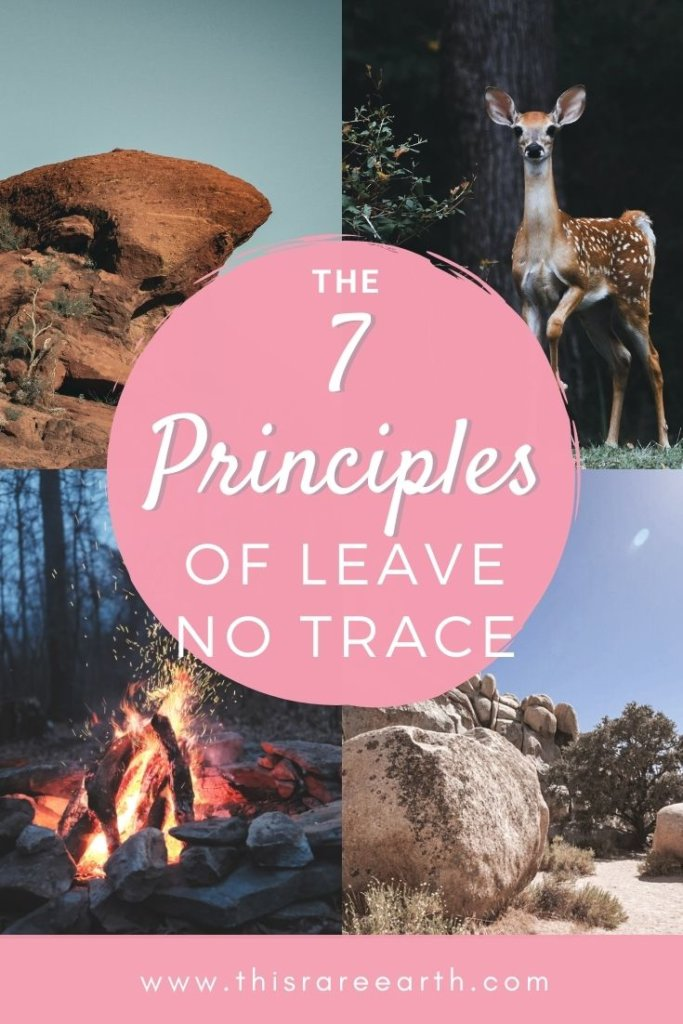 The 7 Principles of Leave No Trace www.thisrareearth.com