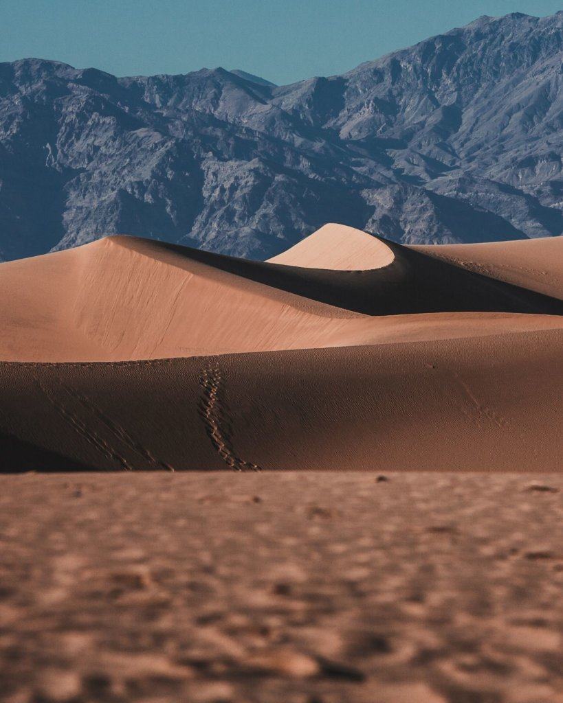 The massive sand dunes in Death Valley - Unique Things to Do in California.