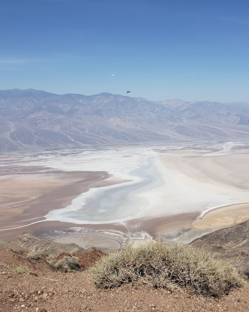 Sweeping views of Death Valley National Park.